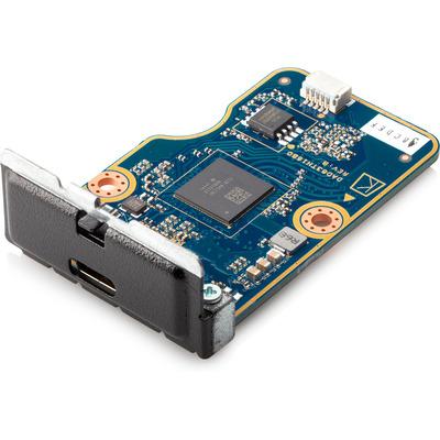 HP Z2 voorste USB-C 3.1-poort Interfaceadapter - Zwart,Blauw