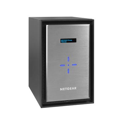 Netgear ReadyNAS 628X NAS - Zwart, Zilver