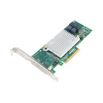 Adaptec interfaceadapter: 1000-8i - Aluminium, Zwart, Groen
