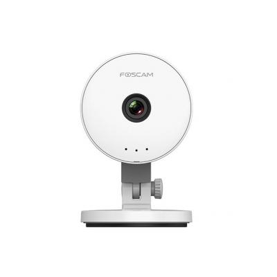 "Foscam beveiligingscamera: 1.0MP, (1280 x 720), 1/4"" CMOS, f: 2.8mm; F: 2.4, IEEE802.11b/g/n, H.264, Micro SD, white - ....."