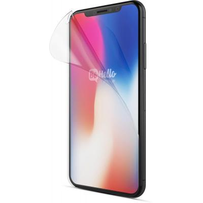 Behello screen protector: iPhone X, Anti Fingerprint, Glossy, Clear - Transparant