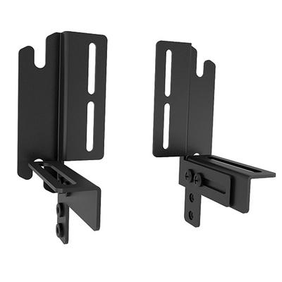 Chief FUSION universal clamp kit, 2 pieces, Black Muur & plafond bevestigings accessoire - Zwart