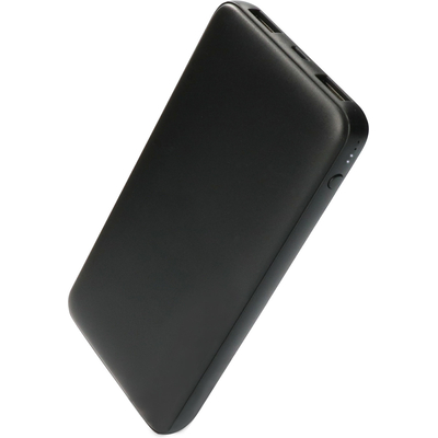 Mobiparts Powerbank, 10000 mAh, Black Powerbank - Zwart