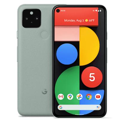 """Google Pixel 5 6"""" 128GB 5G Groen Smartphone"""
