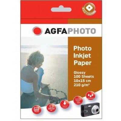 Agfaphoto fotopapier: 100sheets 210gr high glossy