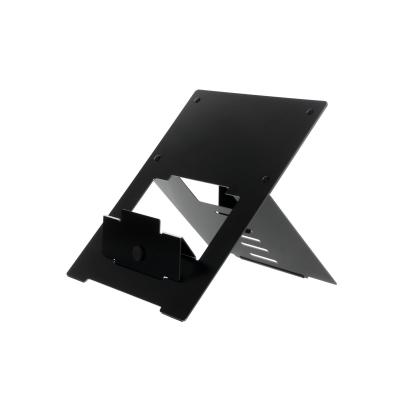 R-go tools notebooksteun: Riser Laptopstandaard, flexibel, verstelbaar, zwart