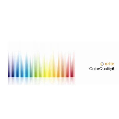 X-Rite Upgrade ColorQuality Online 5 to ColorQuality Online 6, 2-4 pr/lic Grafische software