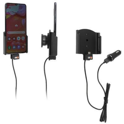 Brodit 2.1A, 12/24V, USB-cable, 360°, 138 g Oplader - Zwart