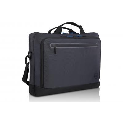 Dell laptoptas: Urban Briefcase-15 - Zwart, Blauw