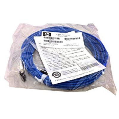 Hewlett Packard Enterprise 15M Premier Flex Fc Om4 Fiber optic kabel - Blauw