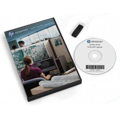 Hp printeremulatie upgrade: DesignJet PostScript/pdf-upgradekit