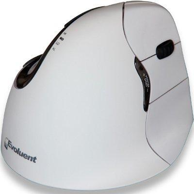 Evoluent VerticalMouse 4 Bluetooth voor Mac - Medium/Large - Rechtshandig Computermuis - Wit