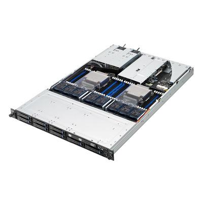 Asus server barebone: RS700-E8-RS8 V2 - Zwart, Grijs