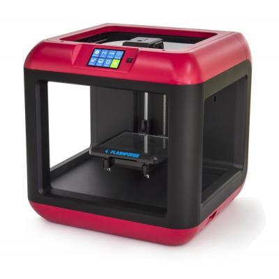 Gembird FDM, PLA, 0.1 - 0.4 mm Layer thickness 3D-printer - Zwart, Rood