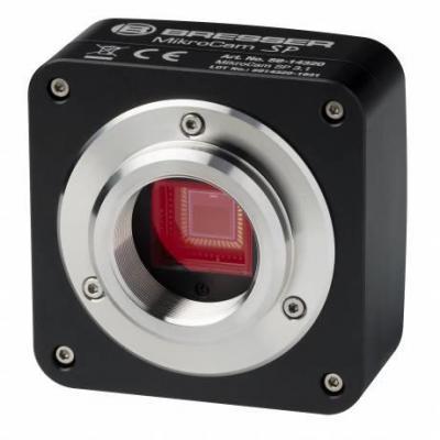 Bresser optics microscoop accessoire: MIKROCAM SP 3.1 - Aluminium, Zwart