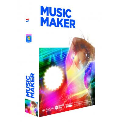 Magix audio software: Music Maker Techno Edition 4