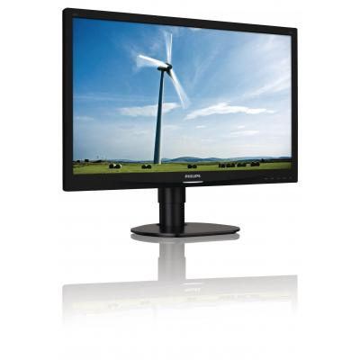 "Philips monitor: Brilliance 60.96 cm (24 "") , W-LED, 1920 x 1080, 5ms, 250cd/m2, 1000:1/20M:1, 16:9, DVI-D, VGA, 4.3kg ....."