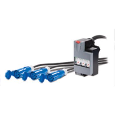 APC Pwr Dist 3X1 16A 3XIEC309 480/540/600cm Energiedistributie - Zwart