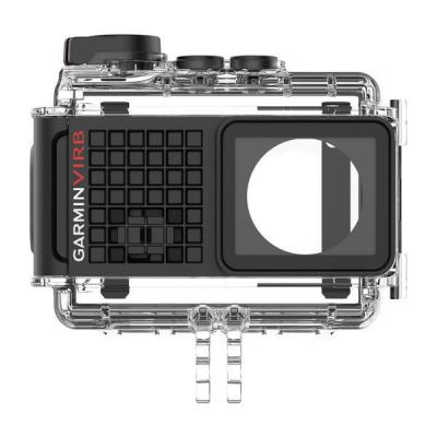 Garmin camera accessoire: Waterproof Case - Zwart, Transparant