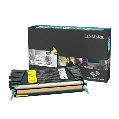 Lexmark C522A3YG cartridge