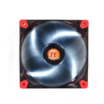 Thermaltake Luna 12 LED White Hardware koeling - Zwart, Rood, Transparant