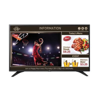 Lg led-tv: 55LW540S SuperSign TV - Zwart
