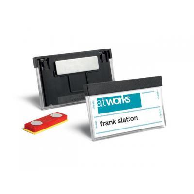 Durable naambadge: Naambadge 8507 30x60 magneet/p25