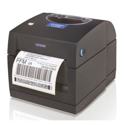 Citizen CL-S300, DT, USB, Grey Label printer Labelprinter - Zwart