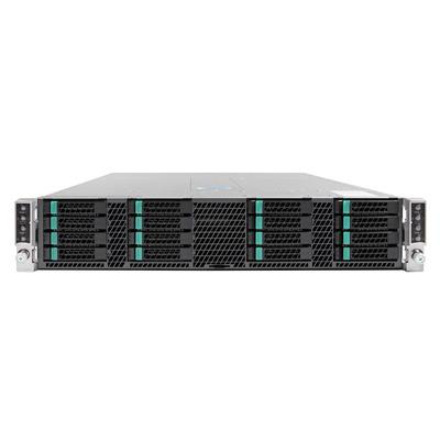 Intel H2216XXLR2 Behuizing - Zwart, Zilver