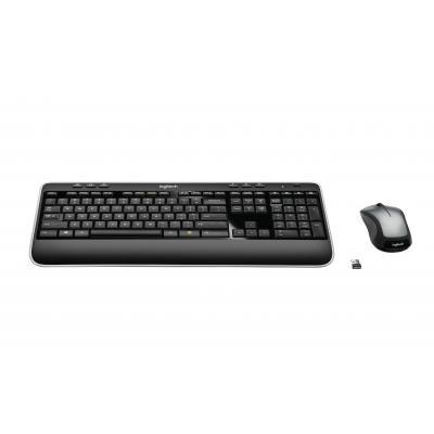 Logitech toetsenbord: MK520 - Zwart, QWERTZ