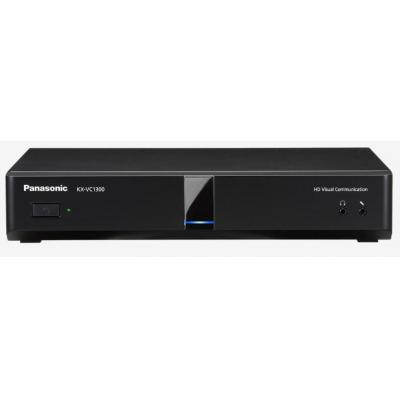 Panasonic IETF SIP, ITU-T H.323, 1920x1080, Fast Ethernet, RS-232C, HDMI, VGA, USB, Black Videoconferentie .....