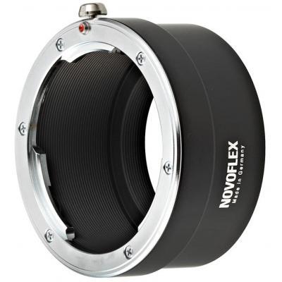 Novoflex Leica R-lenses to Canon EOS-M, Black/Silver Lens adapter - Zwart, Zilver