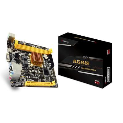 Biostar AMD Kabini, AMD E1-2150 Processor (Dual core 1.05GHz, 9W), Max. Supports up to 16GB Memory Each DIMM .....
