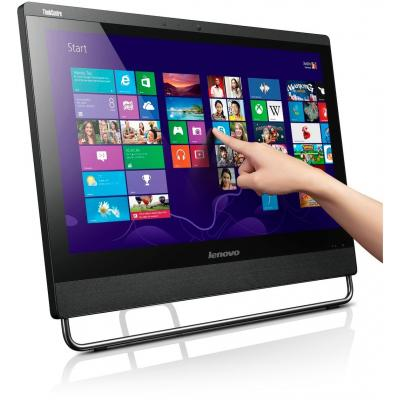 Lenovo all-in-one pc: ThinkCentre M93z - Zwart