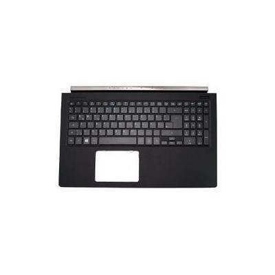 Acer Top Case, Black With Keyboard Notebook reserve-onderdeel - Zwart