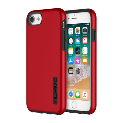 Incipio DualPro Mobile phone case - Zwart, Rood