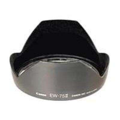 Canon lens adapter: EW75/2 Lens Hood for EF20mm f2.8 USM, EF20-35mm f2.8L - Zwart