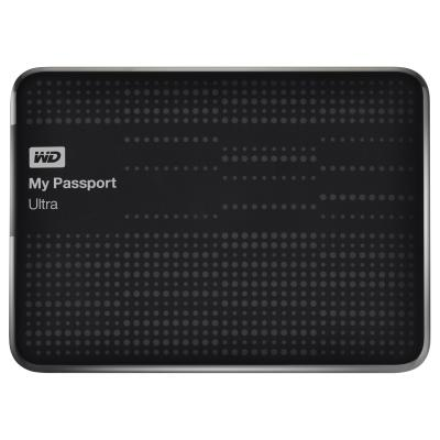 Western digital externe harde schijf: 2TB My Passport Ultra - Zwart