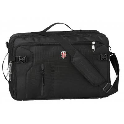 Ellehammer tas: Bergen Business Convertible - Laptoptas - 15.6 inch / Zwart