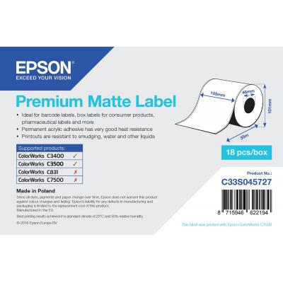 Epson barcode label: C33S045727