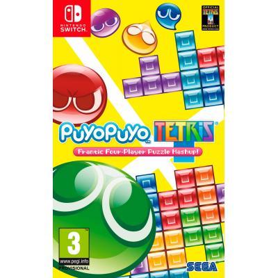 Sega game: Puyo Puyo Tetris  Nintendo Switch