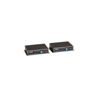 Black Box 1-Port Coax Ethernet Extender Kit, 152.4m Max Netwerk verlenger - Zwart