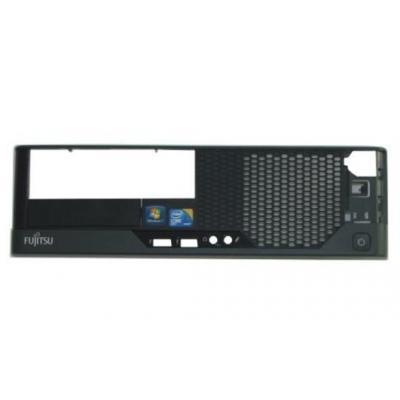 Fujitsu Computerkast onderdeel: Bezel, Black - Zwart