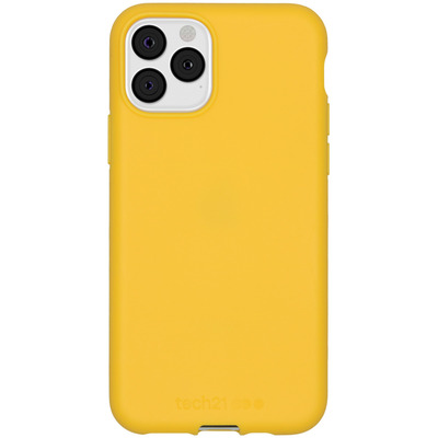 Antimicrobial Backcover iPhone 11 Pro - Yellow - Geel / Yellow Mobile phone case