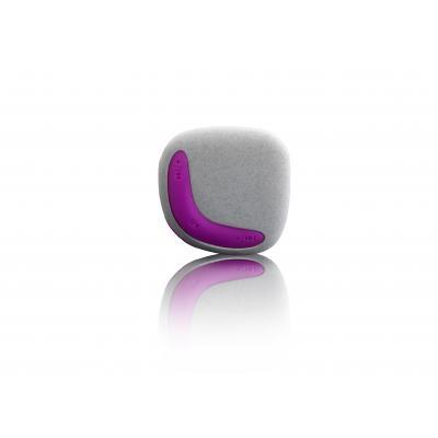 Lenco MP3 speler: Xemio-254 - Grijs, Roze