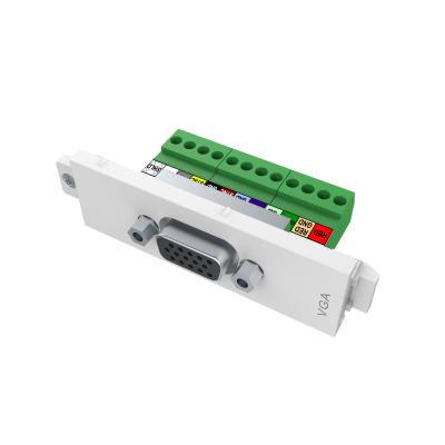 Vision wandcontactdoos: VGA female module - Wit