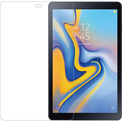 Azuri Screen protector Tempered Glass - tra - Samsung T590 Tab A 10,5 inch - Transparant