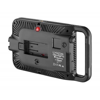 Manfrotto camera flitser: LED, 1600lux at 1m, 5600K, CRI >93, Bluetooth Ready, Li-ion L-Type, 40 x 260 x 152mm, 460g - .....