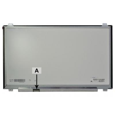 """2-power notebook reserve-onderdeel: 43.942 cm (17.3 """") 1920x1080 FullHD LED Matt - Zwart, Grijs"""