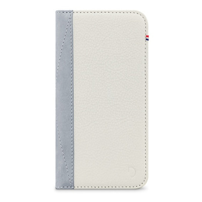 Decoded Leather Wallet Case for iPhone 7, White Mobile phone case - Wit